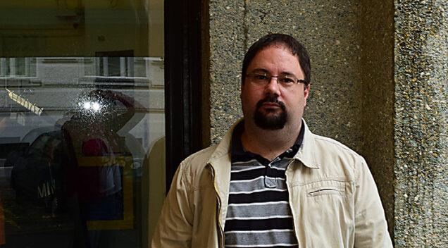 Danijel Rafaelić, povjesničar filma (foto: Siniša Bogdanić)