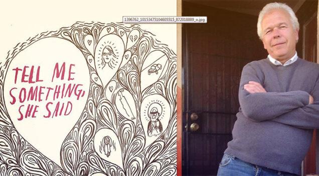 David Reather i naslovnica njegovih memoara (foto: davidraether.com)