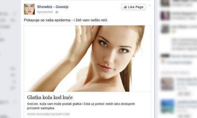 Lažne reklame na Facebooku
