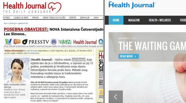 """Health journal"" i Health journal"