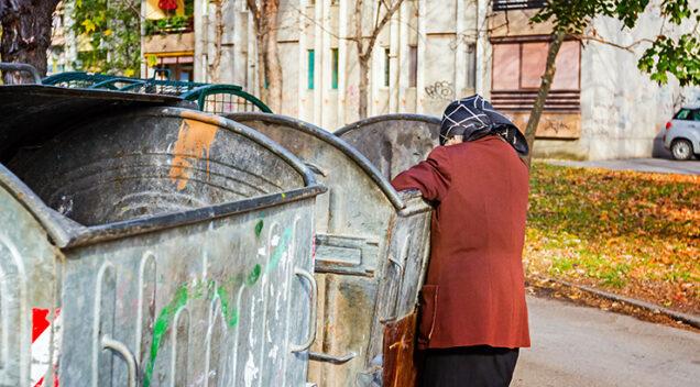 Hrvtski umirovljenici kopaju po kontejneru