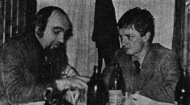 Grada Veljković i Goran Bregović (foto: RTV revija, 1978.)