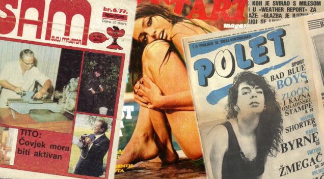 Koji su se časopisi čitali u Jugoslaviji?