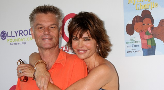 Harry Hamlin i Lisa Rinna, CUlver City, 2012. (foto: BigStock)