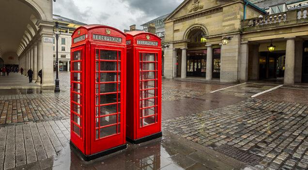 Telefonske govornice u Londonu