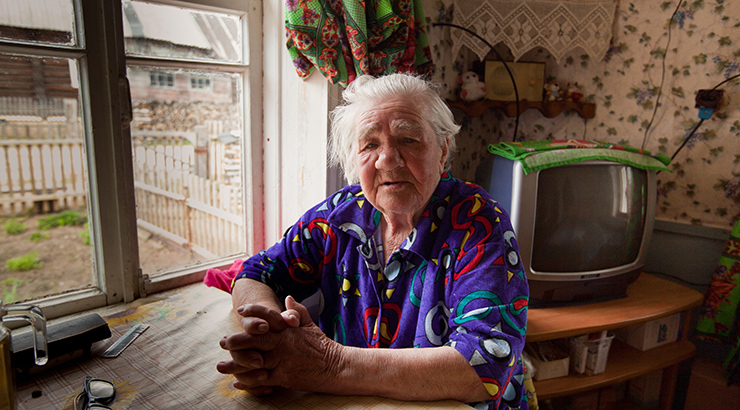 Siromaštvo i starije osobe