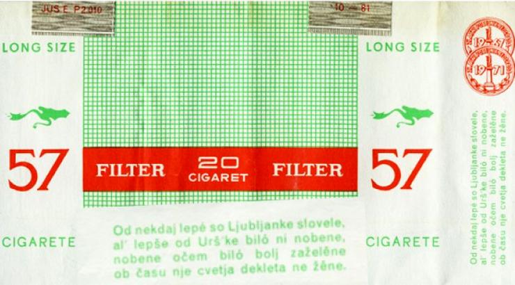 Najpopularnije cigarete u Jugoslaviji