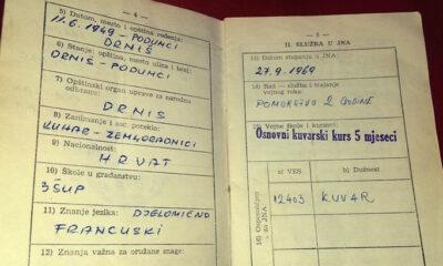 vojna knjižica, služenje vojske u jugoslaviji