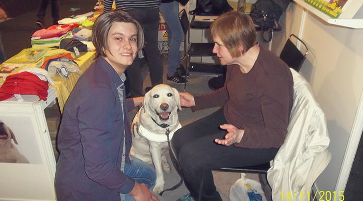 Gdje nabaviti psa za slijepu osobu?