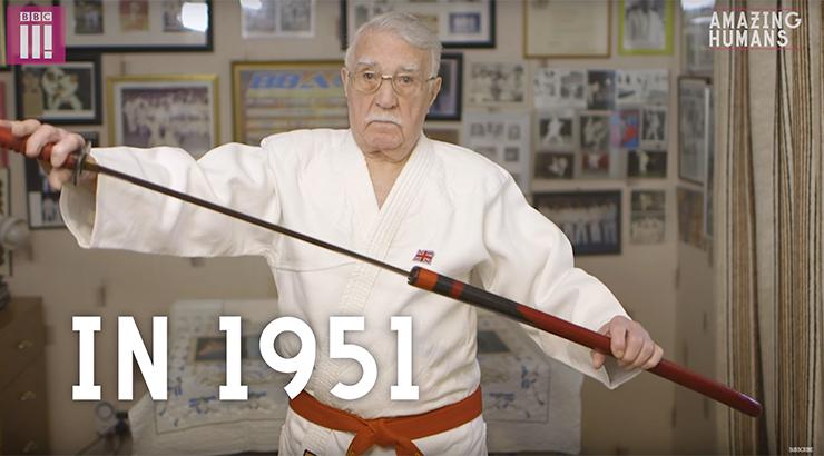 najstariji trener borilačkih vještina