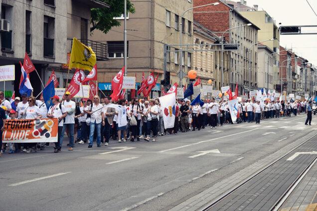Prvomajski prosvjed 2018.
