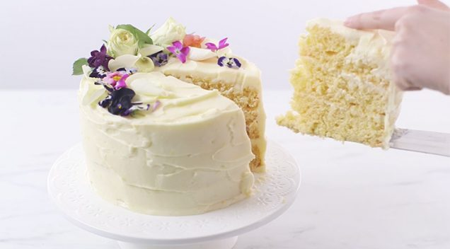 Torta od limuna i bazge