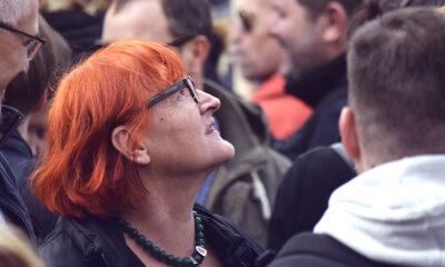 Prosvjed novinara u Zagrebu