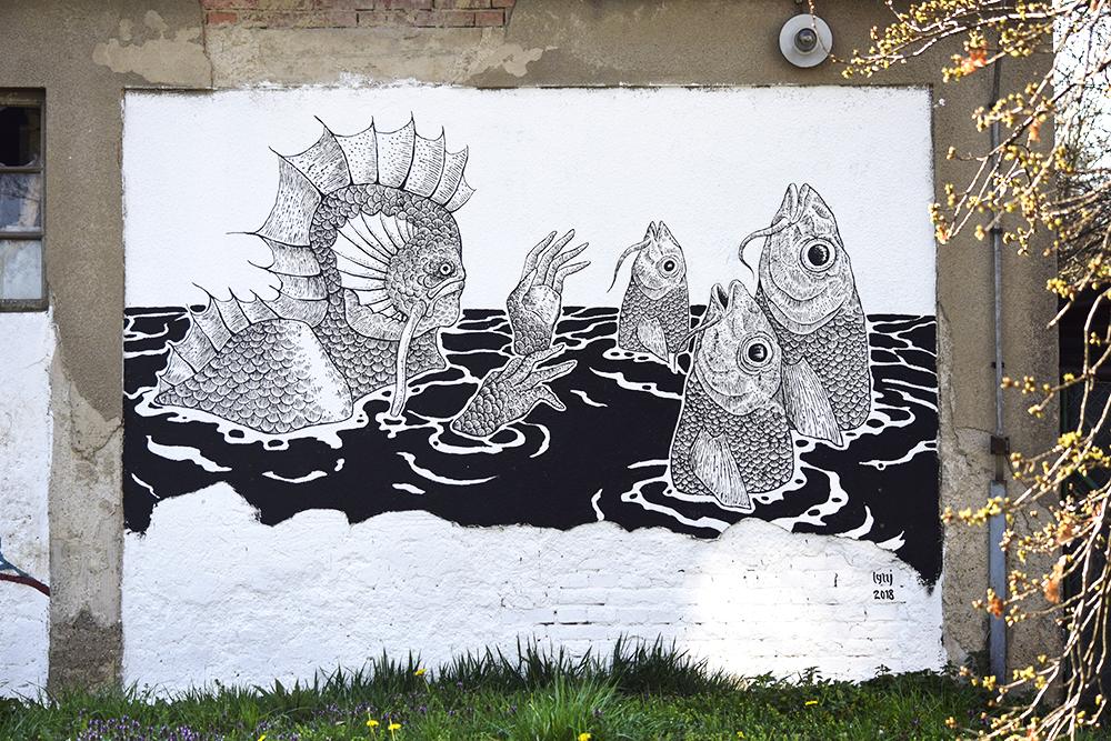 Znate li za sjajnu zbirku murala uz potok Bliznec u